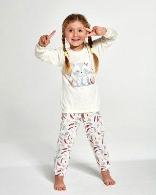 Cornette Kids Girl 594/121 Raccon 86-128 piżama dziewczęca