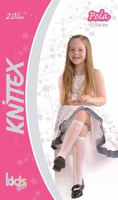 Knittex Pola Lurex 20 den podkolanówki
