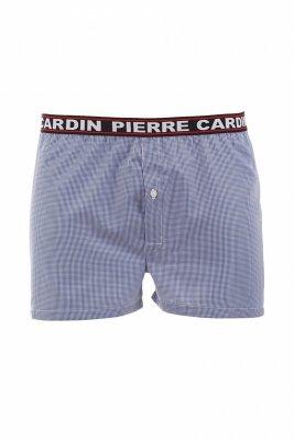 Pierre Cardin K3 granatowa krata Szorty męskie