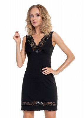 Donna Stella czarna Koszula nocna
