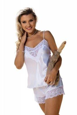 DKaren Cynthia Biały piżama damska