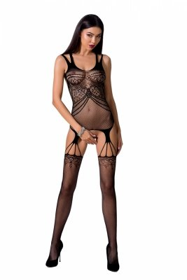Passion BS070 black Bodystocking