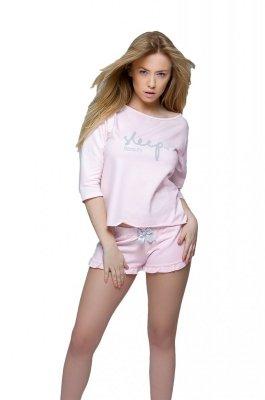 Sensis Sleep Komplet różowy Piżama damska