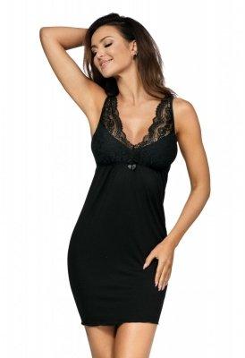 Donna Kasiya II czarna Koszula nocna