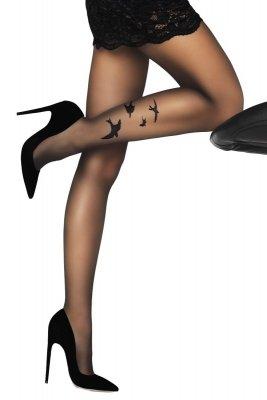 Livia Corsetti Orsita 20 DEN Black Rajstopy