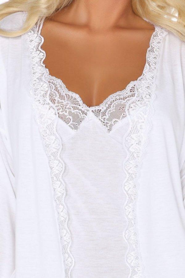 Beauty Night Jane white Koszulka i szlafrok
