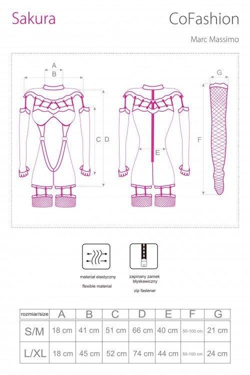 Cofashion Sakura Bodystocking