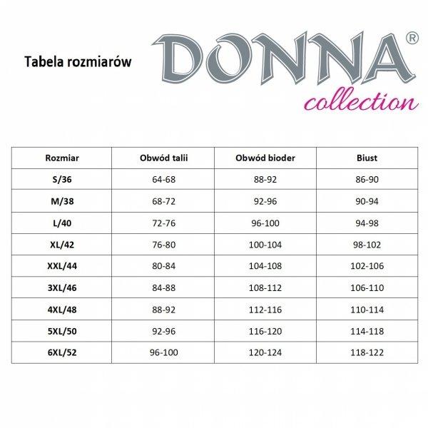 Donna Alexia II czarna Koszula nocna