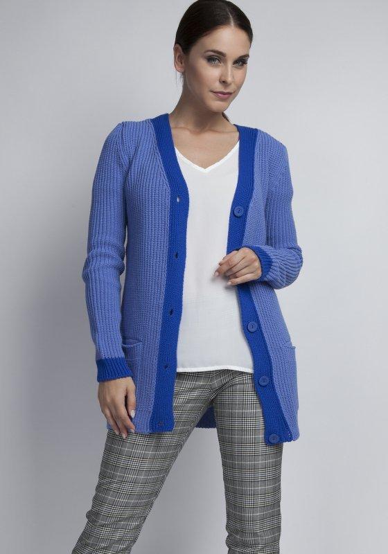 MKM Pataya SWE043 niebieski sweter