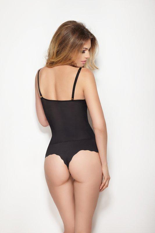 Mitex Glam Body - stringi Czarne body korygujące