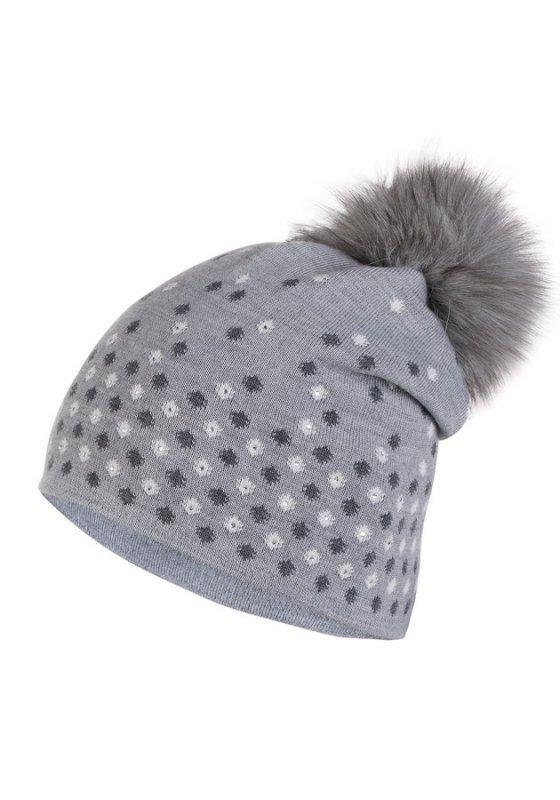 Kamea Margo szara czapka