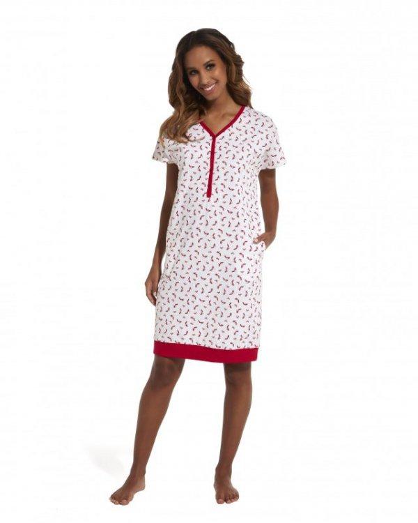Cornette Red Shoes 637/149 koszula nocna