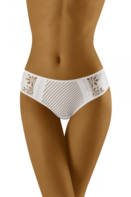 Wol-Bar Gigua Białe stringi damskie