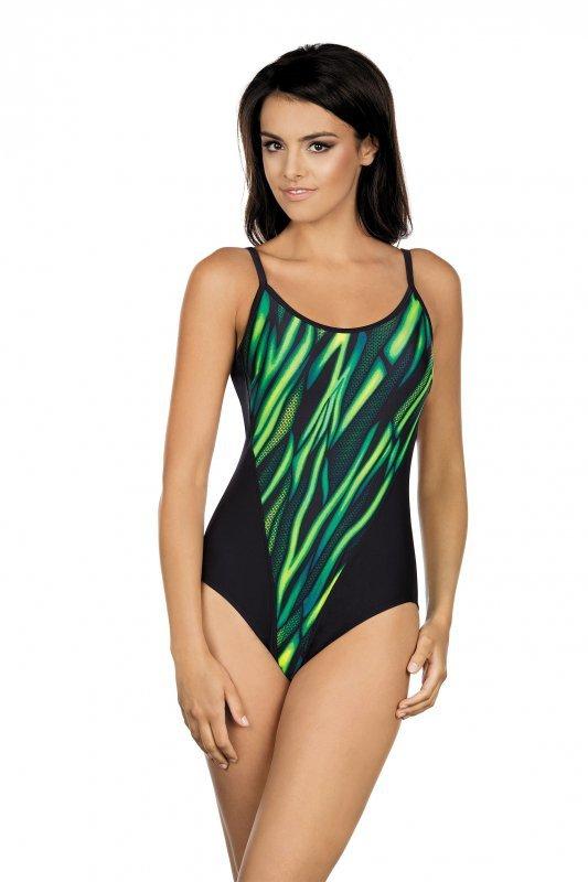 Lorin LO 22-7155 Zielono-Czarny strój kąpielowy