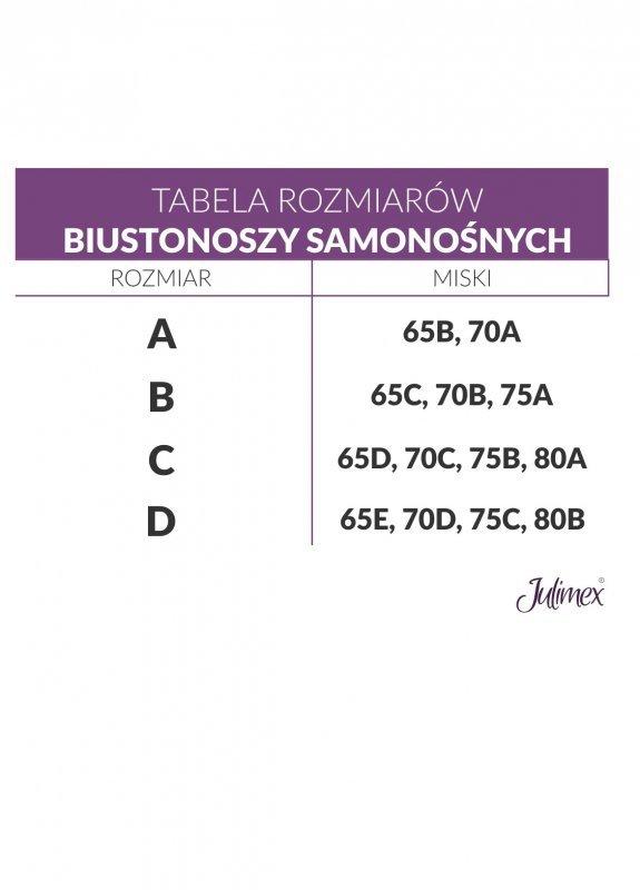 Julimex BS-01 Transparentny  biustonosz