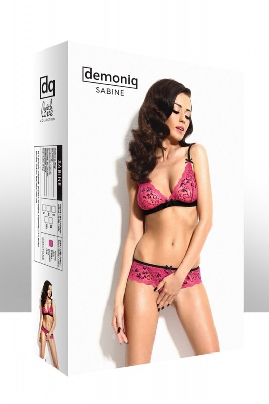 Demoniq Sabine pink Komplet