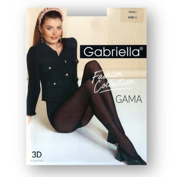 Gabriella 488 Gama nero rajstopy damskie