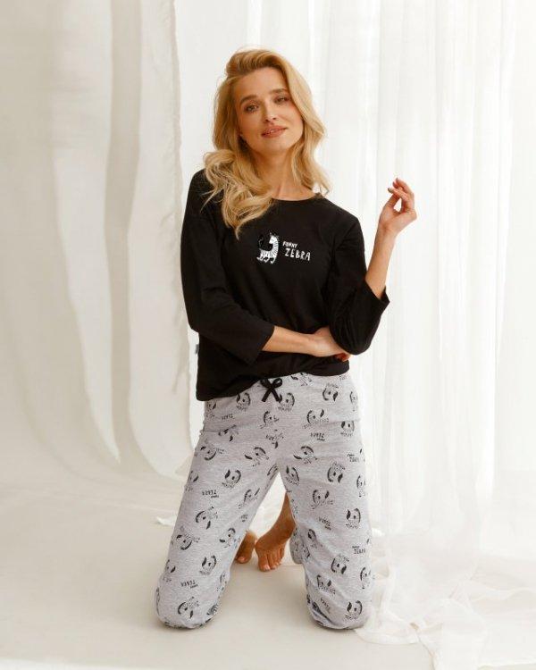 Taro Ida 2581 czarna piżama damska