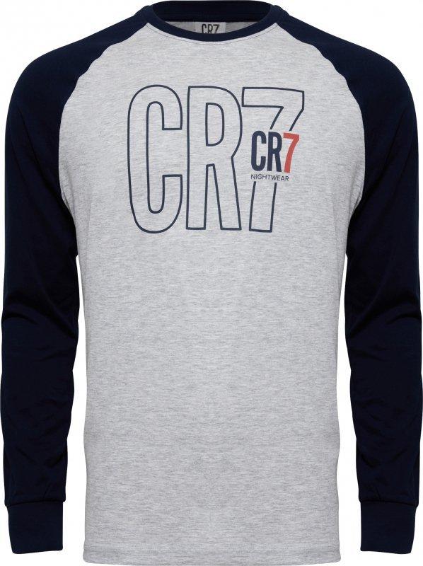 Cristiano Ronaldo  CR7 8770-42-4908 szara piżama męska