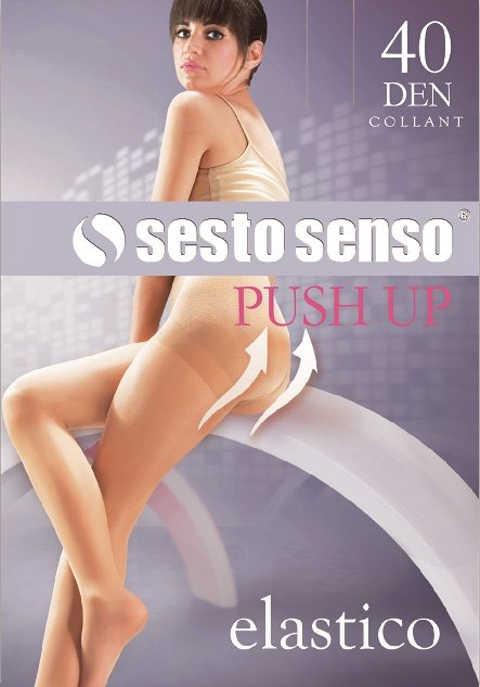 Sesto Senso Push Up 40 DEN Rajstopy damskie