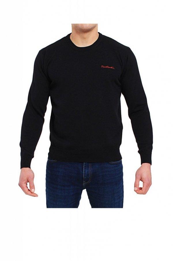 Pierre Cardin R-Napis czarny Sweter
