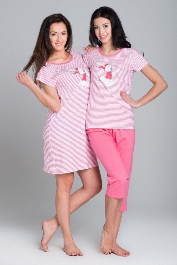 Rossli SAL-ND-007 różowy Koszula nocna