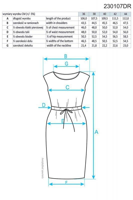 Ennywear 230107 sukienka