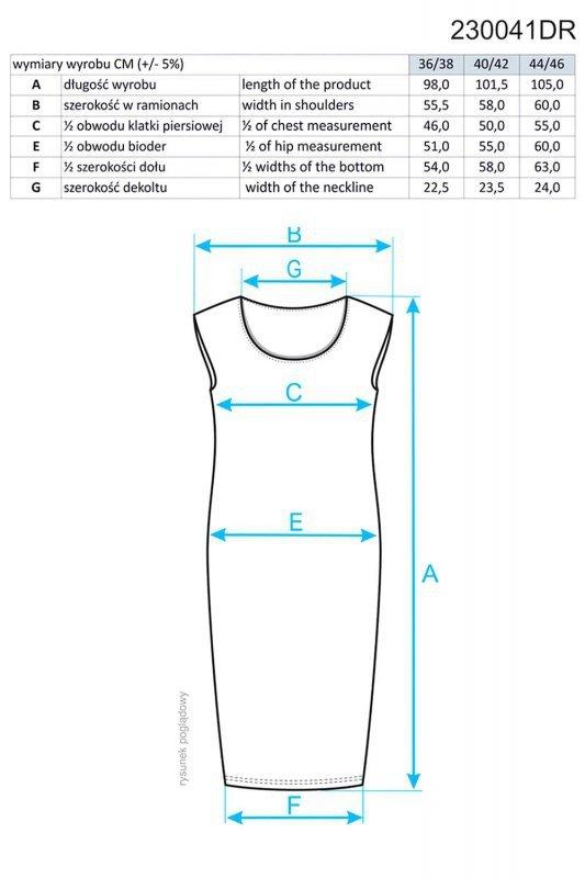 Ennywear 230041 sukienka