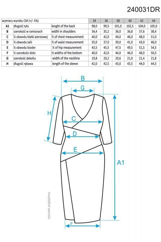 Ennywear 240031 sukienka