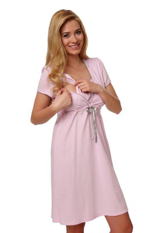 Italian Fashion Felicita różowy koszula nocna