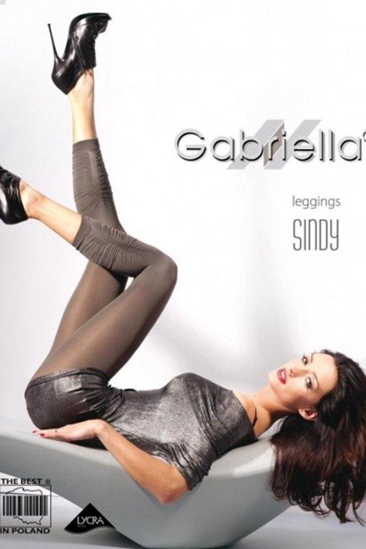 Gabriella 135 microfibra sindy 3/4 grafitowy legginsy