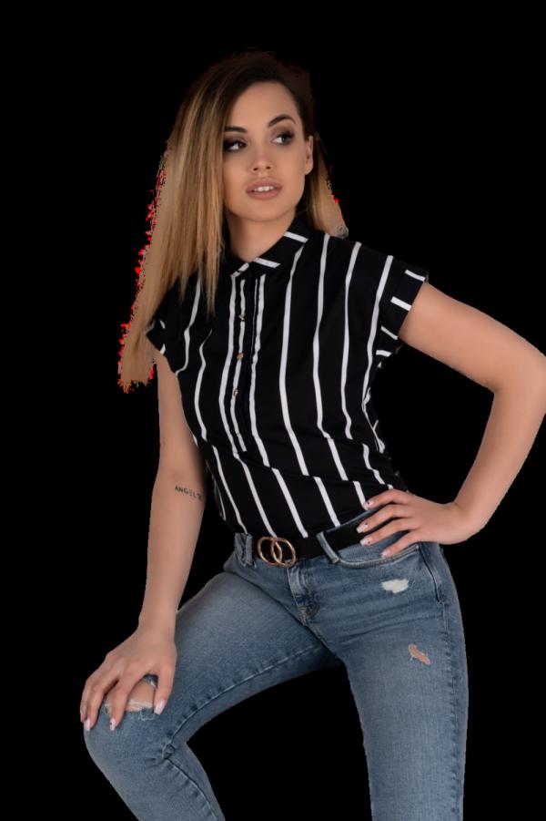 Merribel Ouranila Black bluzka damska