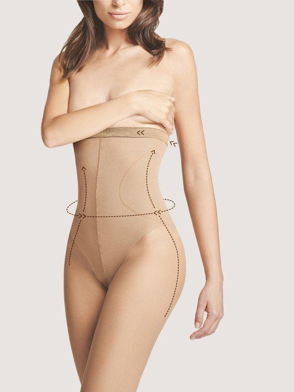 Fiore Body Care High Waist Bikini M 5114 20 den rajstopy