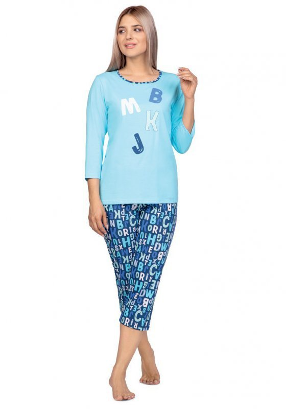 Regina 976 piżama damska plus size