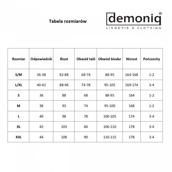 Demoniq Vera 1 Stringi 3 sztuki