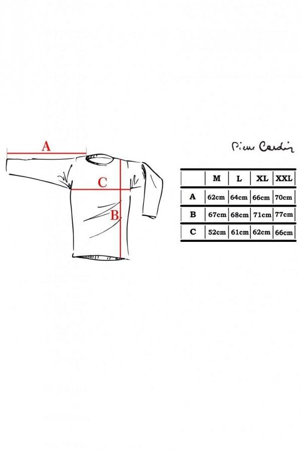 Pierre Cardin R-Napis szary Sweter