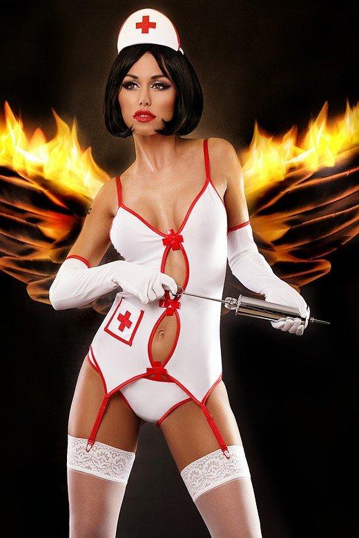 Lolitta Sexy Nurse Kostium Pielęgniarki