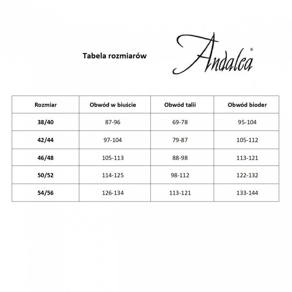 Andalea M/1050 Pas do pończoch