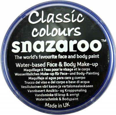 Snazaroo - farbka do malowania twarzy - CZARNA