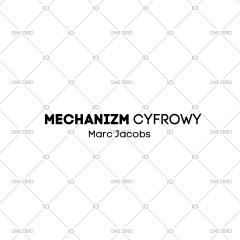 mechanizm cyfrowy Marc Jacobs