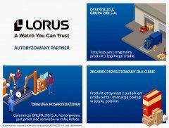 Zegarki Lorus • ONE ZERO • Modne zegarki i biżuteria • Autoryzowany Partner