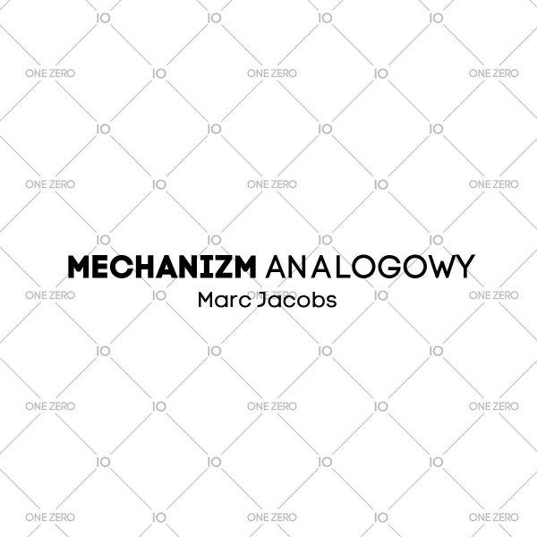 mechanizm analogowy Marc Jacobs • ONE ZERO • Modne zegarki i biżuteria • Autoryzowany sklep