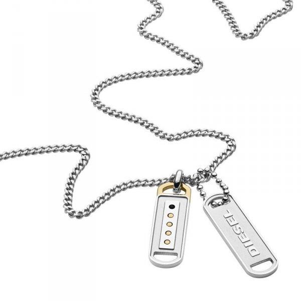 naszyjnik Diesel DX1213040 • ONE ZERO • Modne zegarki i biżuteria • Autoryzowany sklep