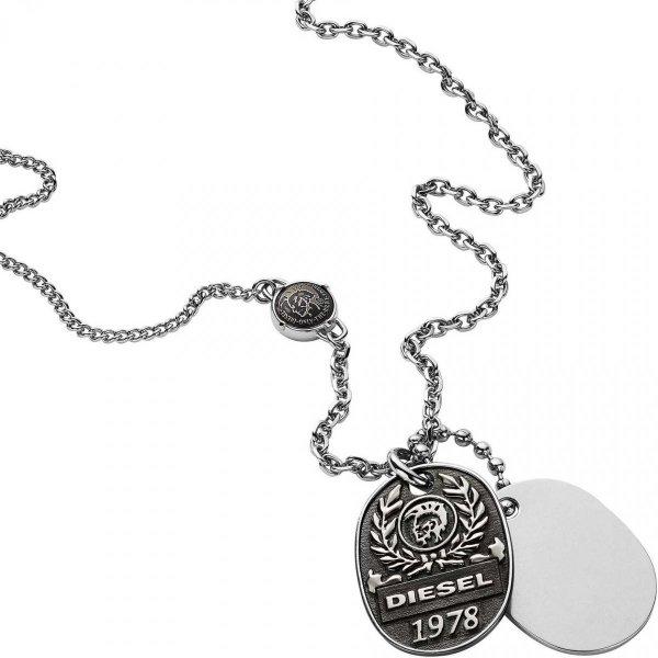 naszyjnik Diesel DX1106040 • ONE ZERO • Modne zegarki i biżuteria • Autoryzowany sklep
