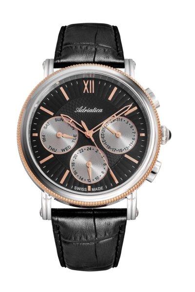 zegarek Adriatica A8272.R264QF • ONE ZERO • Modne zegarki i biżuteria • Autoryzowany sklep