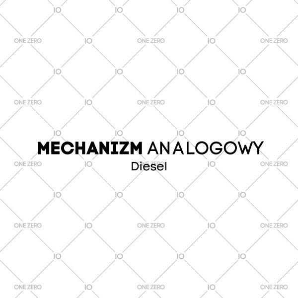 mechanizm analogowy Diesel • ONE ZERO • Modne zegarki i biżuteria • Autoryzowany sklep