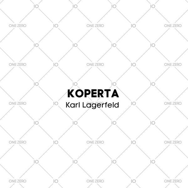 koperta Karl Lagerfeld • ONE ZERO • Modne zegarki i biżuteria • Autoryzowany sklep
