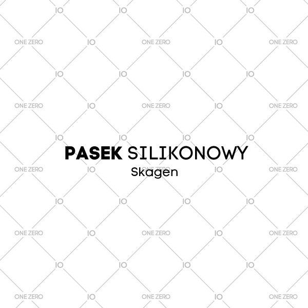 pasek silikonowy Skagen • ONE ZERO • Modne zegarki i biżuteria • Autoryzowany sklep