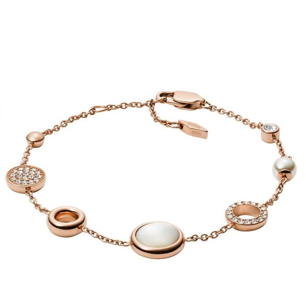 bransoletka Fossil JF02959791 • ONE ZERO • Modne zegarki i biżuteria • Autoryzowany sklep
