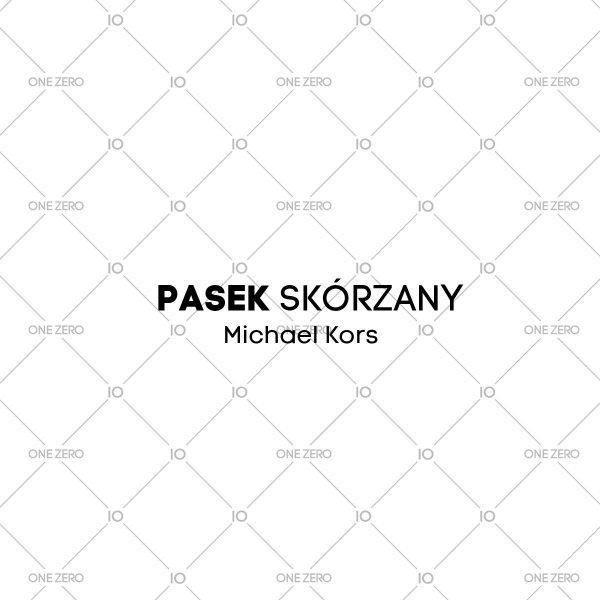 pasek skórzany Michael Kors • ONE ZERO • Modne zegarki i biżuteria • Autoryzowany sklep